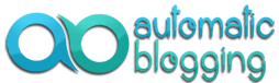 Automatic Blogging Logo