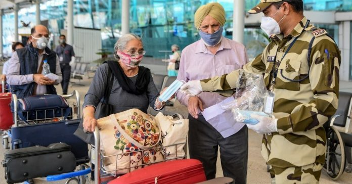 Contact Tracing App May Be Required To Board Flights In Indian Airports