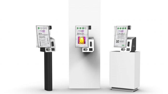 Contactless temperature-checking kiosks are coming amid coronavirus
