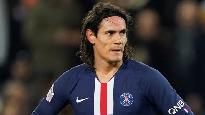 Edinson Cavani will be available on a free transfer this summer