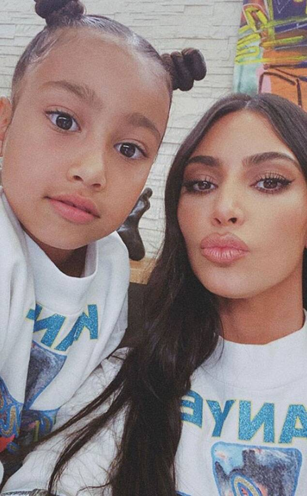 Kim Kardashian, West Kids