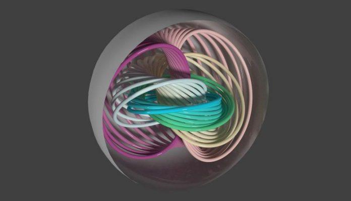 Polarization Lines Pastel
