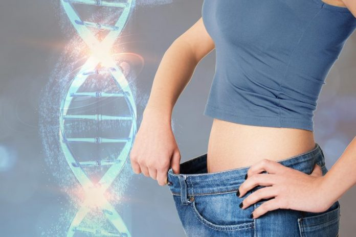 Genetic Weight Loss Concept