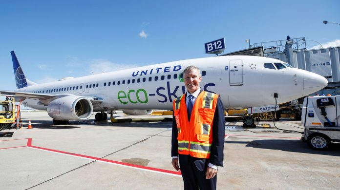 United's new CEO eyes union cooperation to avoid staff cuts in pandemic