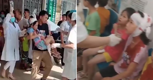 Knife attack at Chinese primary school