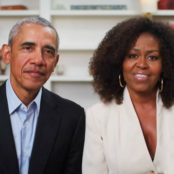 Barack and Michelle Obama Deliver Moving YouTube Commencement Speech