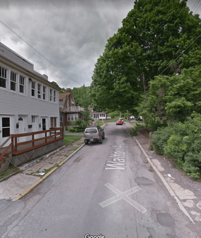 File photo of alley where disabled child was raped