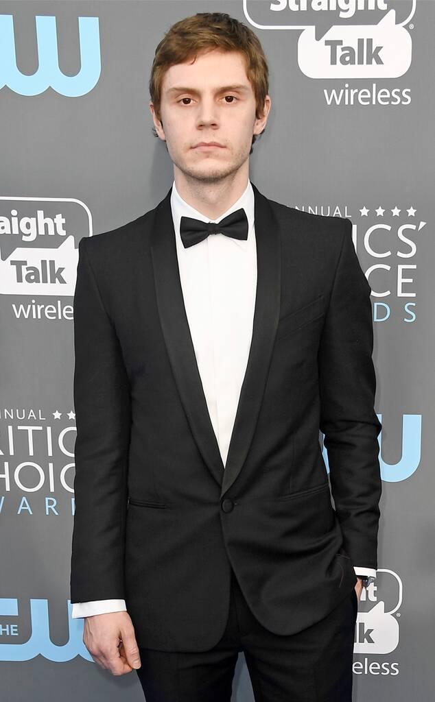 Evan Peters, 2018 Critics Choice Awards