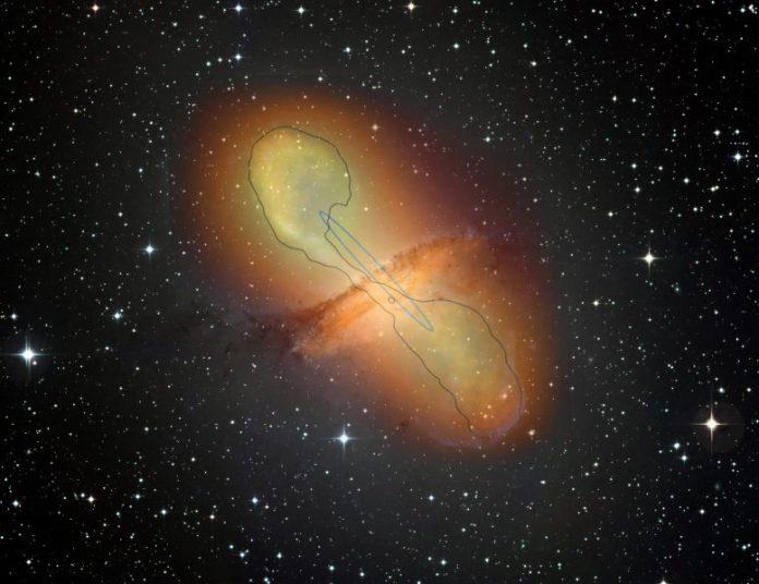 Jets of Plasma Centaurus A