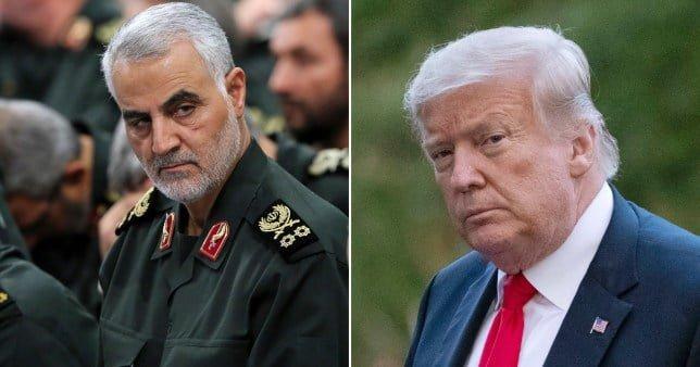 Iran issues arrest warrant Donald Trump