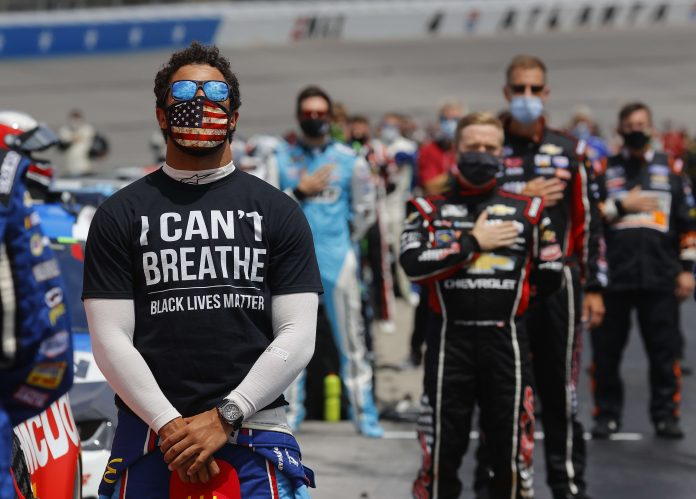 NASCAR says person responsible for putting noose in Wallace's garage will be 'banned for life'