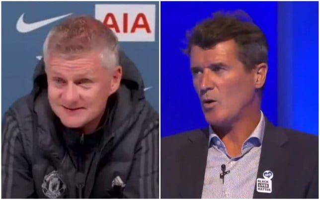 Ole Gunnar Solskjaer has hit back at Roy Keane's criticism of David De Gea