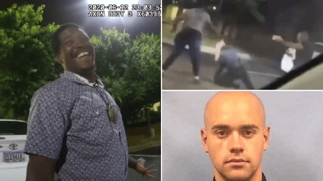 Police bodycam footage shows moments before cops shot black driver, 27, to death