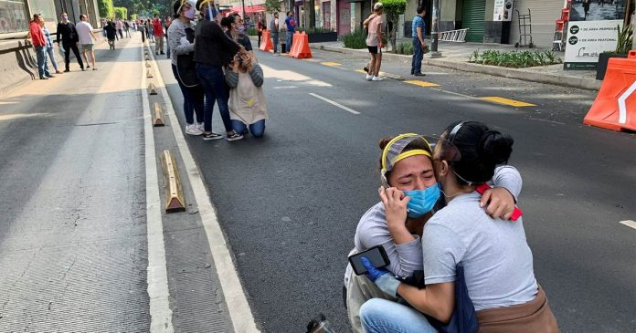 Powerful 7.4-magnitude earthquake rocks Mexico, at least four people dead