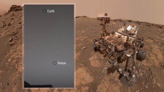 Mars Curiosity Rover Finds Earth and Venus