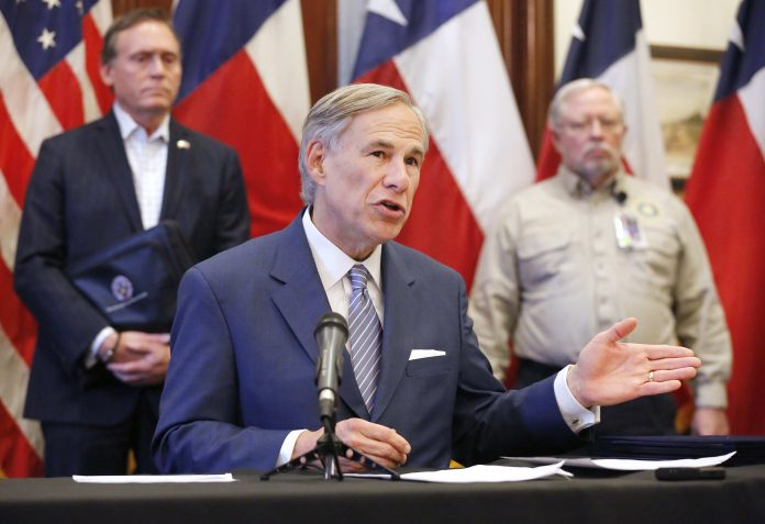 Texas governor says lack of social distancing is boosting coronavirus cases