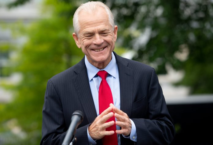White House trade advisor Peter Navarro denies saying China trade deal is 'over'