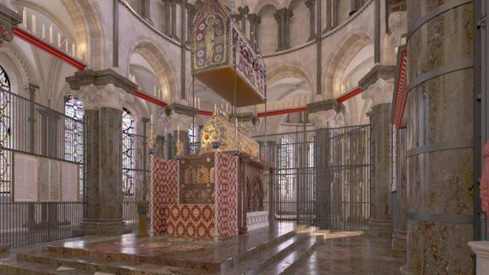 Thomas Beckets Shrine CGI