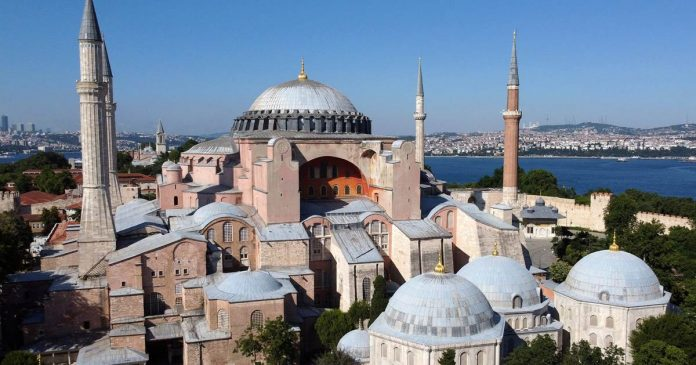 Battle over whether Turkey's Hagia Sophia should be a mosque or museum goes to court