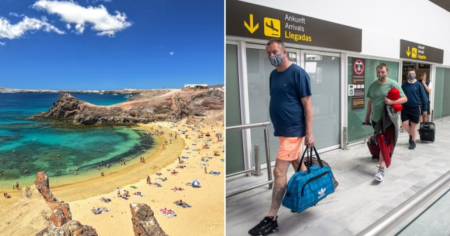 Brit tourist sparks panic in Spanish resort after testing positive for coronavirus