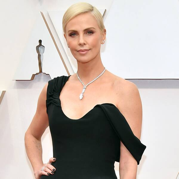 Charlize Theron Totally Freaked Out Her Valet With Her Fake Ax - E! Online