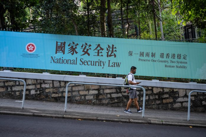 China unveils details of the Hong Kong national security law