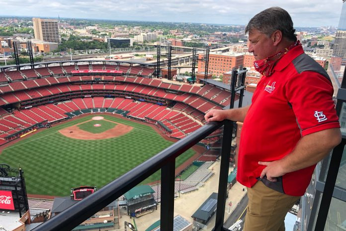 Fans watch from luxury rentals near stadiums