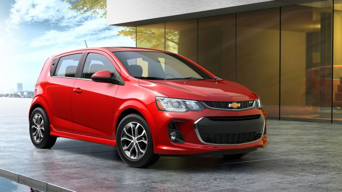 GM ending production of Chevrolet Sonic amid push toward EVs