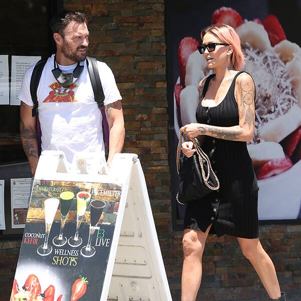 Here's What's Really Going on Between Brian Austin Green and Model Tina Louise - E! Online