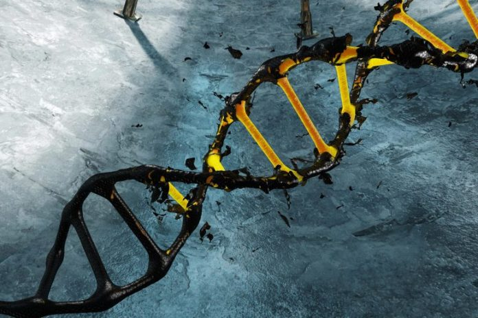 DNA COVID-19 Fingerprint Concept