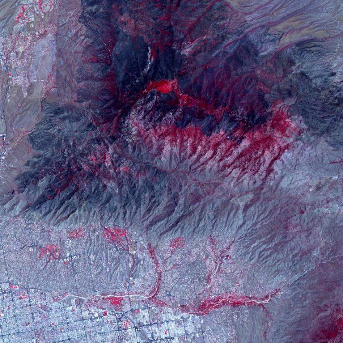 Arizona Bighorn Fire Burn Scar