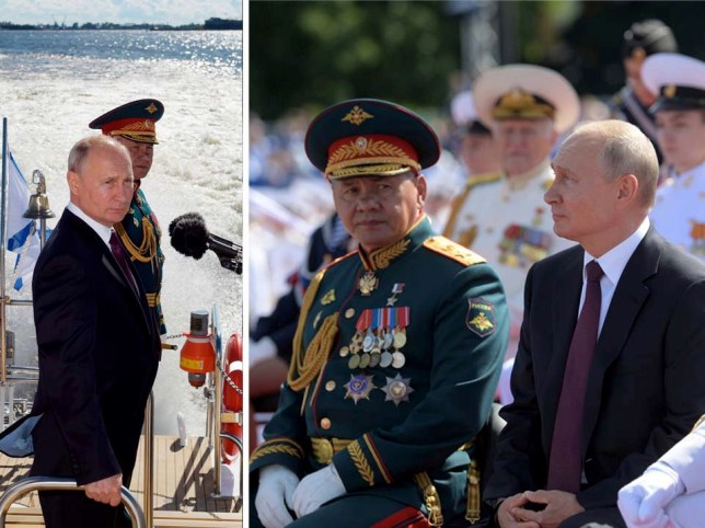 Russia parades its navy to show off 'growing power', with 40 new ships promised