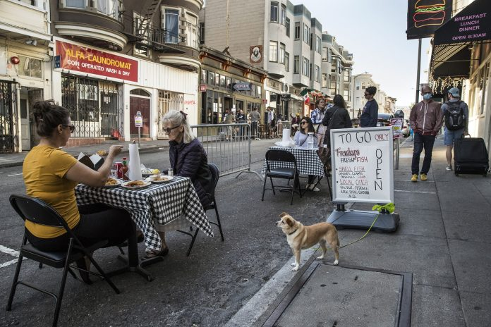San Francisco delays reopening of indoor dining