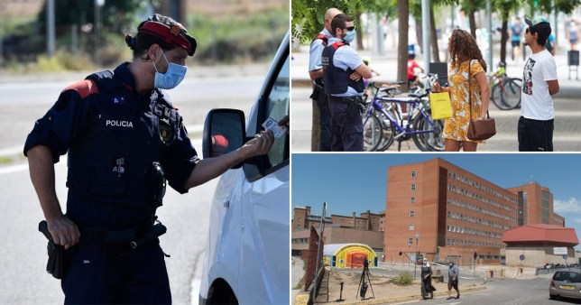 Lleida and seven nearby areas have been put back into a strict lockdown following a spike in cases.