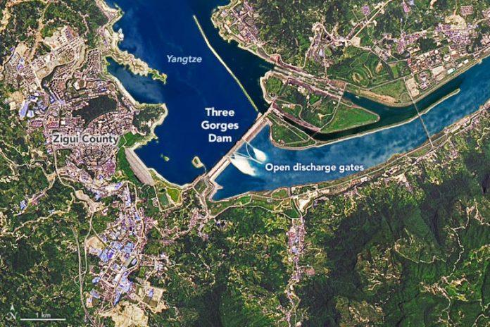 Three Gorges Dam June 2020