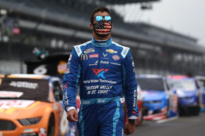 Trump rips NASCAR for Confederate flag ban, targets Black driver Bubba Wallace