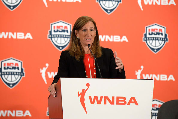 WNBA Commissioner Cathy Engelbert on coronavirus shortened season