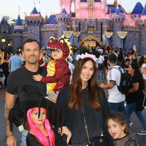 Brian Austin Green Candidly Weighs In on Co-Parenting With Megan Fox - E! Online