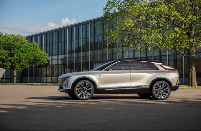 GM unveils all-electric Cadillac Lyriq as its 'technology spearhead'