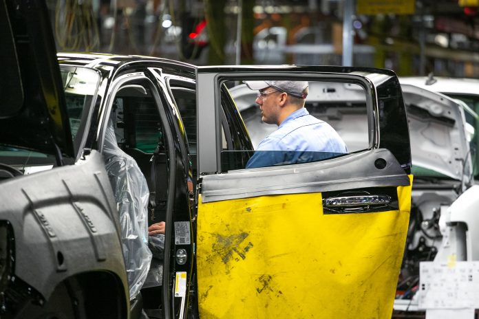 GM uses salaried workers to fill assembly jobs due to coronavirus