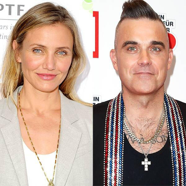 How Cameron Diaz Helped Save Robbie Williams' Relationship With His Wife - E! Online