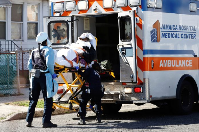New York City emergency medical workers prepare for layoffs