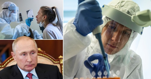 Russia claims it has developed 'world's first' coronavirus vaccine