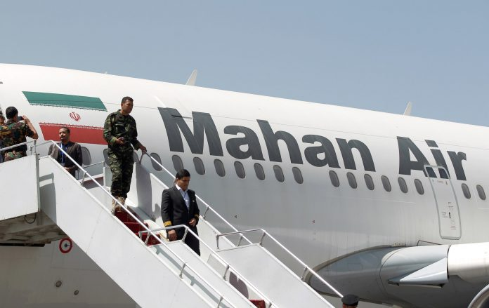 U.S. imposes sanctions on two UAE-based companies for aiding Mahan air