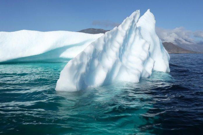 Iceberg Near Greenland