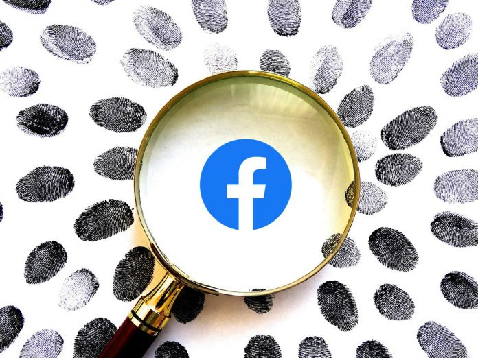 facebook-logo-fingerprints-magnifying-glass