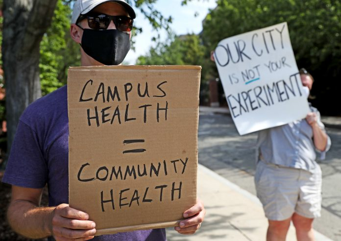 Fraternities blamed for campus outbreaks as universities struggle to keep students in class