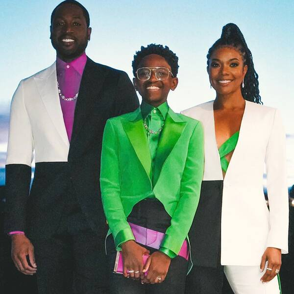 Gabrielle Union and Dwyane Wade Share How Their Own Kids Inspire Them - E! Online