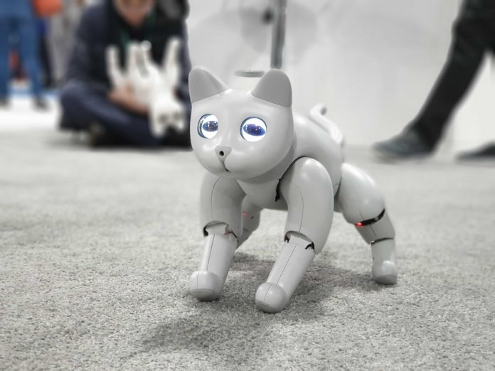 Going paws-on with a robotic cat that listens to your commands (sometimes) - Video