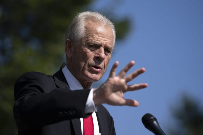 House panel opens probe of White House trade advisor Navarro after cancellation of ventilator contract